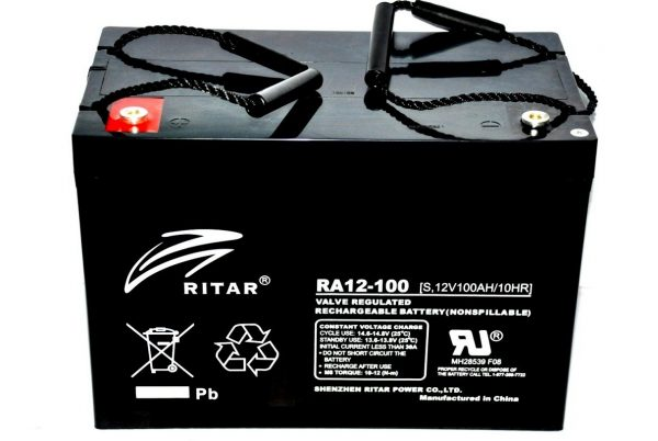 Batería AGM Ritar 12V 100Ah